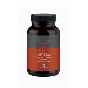 TerraNova complesso MultiVitaminico Prenatale 50 capsule vegetali