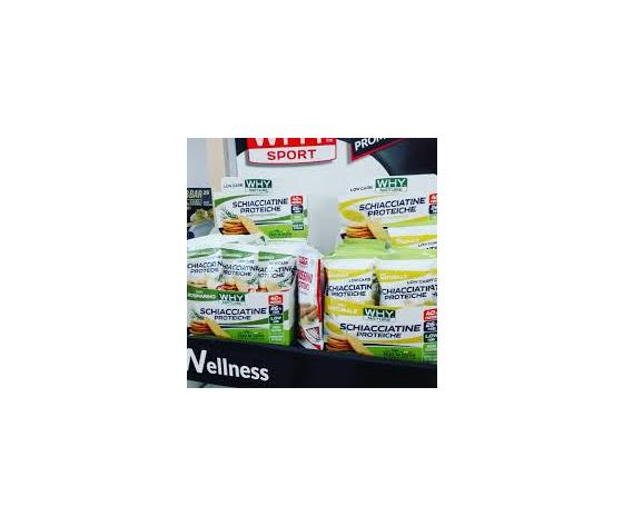 WHYNATURE Schiacciatine proteiche 30 gr
