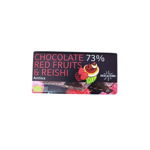 Cioccolato Red Fruit & Reishi 100 gr Freeland