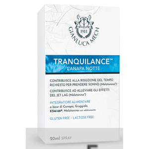 Tranquillance Canapa Notte 20 ml spray