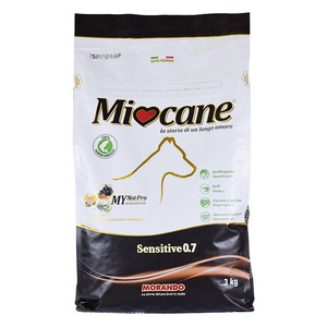 MORANDO MIOCANE Crocchette Sensitive 0.7 3 Kg Pollo