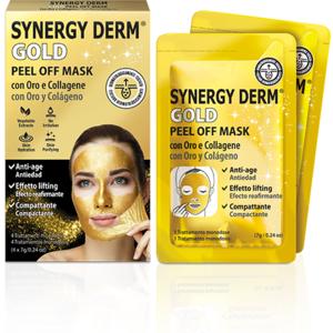 Synergy Derm GOLD PEEL OFF MASK 4 trattamenti monodose