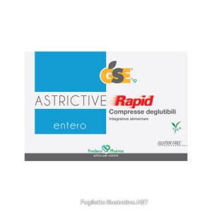 GSE Entero ASTRICTIVE Rapid  24 compresse deglutibili