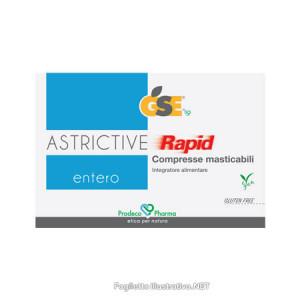 GSE Entero ASTRICTIVE Rapid 24 compresse masticabili