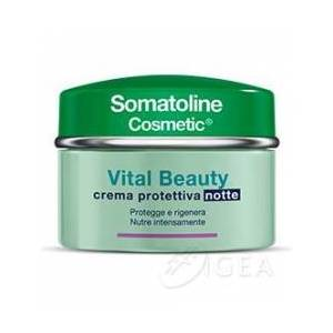 Somatoline Vital Beauty Crema Protettiva Notte 50 ml