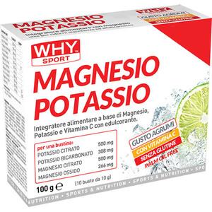 Magnesio e Potassio 10 buste WHY Sport
