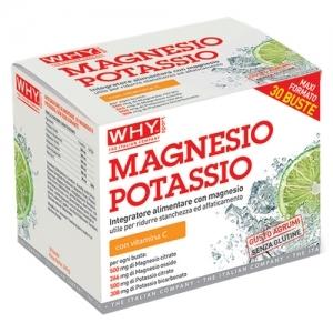 Magnesio e Potassio 30 buste  WHY Sport