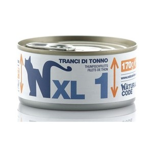NATURAL CODE CAT Adult XL 1 Tranci di tonno 170 gr