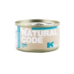 NATURAL CODE CAT Kitten Tonno 85 gr