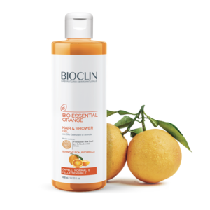 Bioclin BioEssential orange detergente capelli e corpo 400 ml