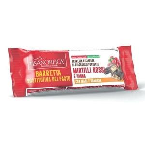 Tisanoreica Barretta sostitutiva pasto Mirtilli rossi 60 gr