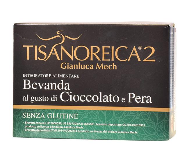 TISANOREICA 2 Bevanda Cioccolato Pera 4 buste