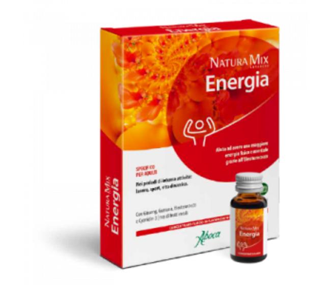 Natura Mix Advance Energia concentrato fluido 10 flaconcini 15 gr