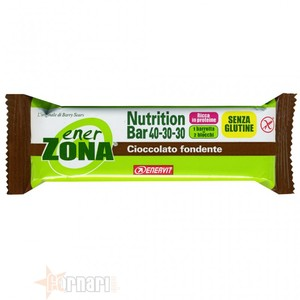 Enerzona Nutrition Bar 40-30-30  arancio ricoperto cioccolato fondente