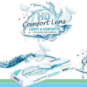 HD Comfort Lenti a contatto 2,25 TWINS 10 lenti monouso giornaliere