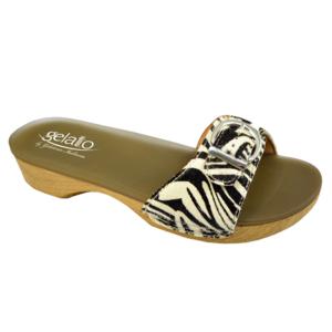 GELATO Sole Mio Animal Zebra 41-42 con calzino