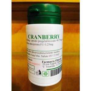 Capsule estratto secco di Cranberry