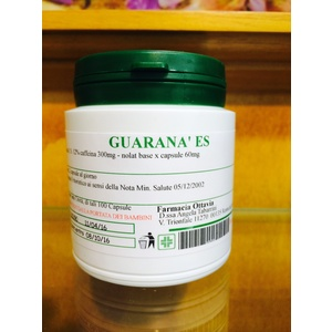 GUARANA' estratto secco 300 mg 100 capsule