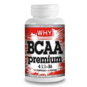 WHY BCAA premium 4:1:1 + B6 200 cp