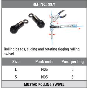 MUSTAD ROLLING BEADS 9971