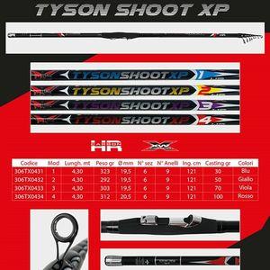 MILO TYSON SHOOT XP BOMBARDA