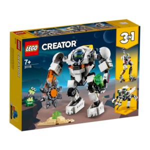 Lego 31115 Mech Per Estrazioni Spaziali