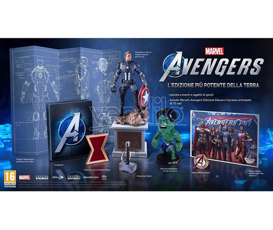 Marvel s avengers collector s edition azione playstation 4