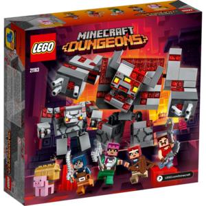 Lego 21163 Minecraft La Battaglia Della Pietra Rossa