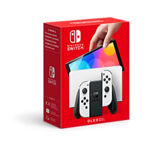 Console Nintendo Switch HW White Oled Model