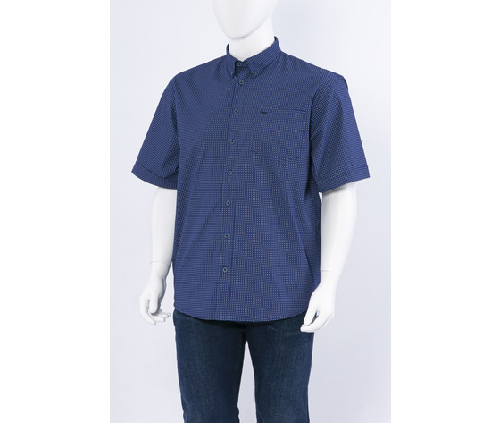 Camicia mm e1260fantasia blu