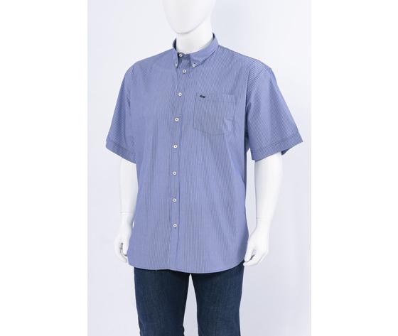Camicia mm 10343riga blu
