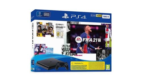 PS4 SLIM CHASSIS+GIOCO FIFA 21