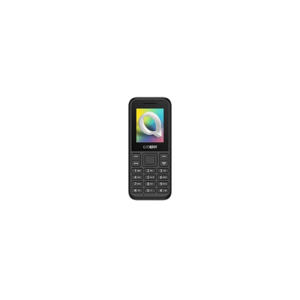 CELLULARE ALCATEL OT-10.66D DUOS BLACK ITALIA