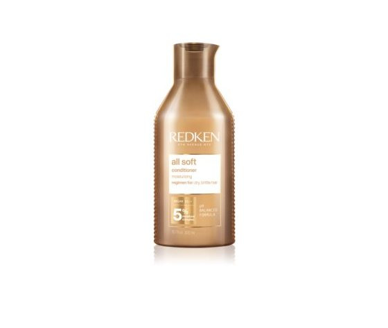Redken all soft balsamo nutriente per capelli secchi e fragili