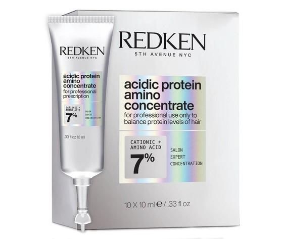 Redken acidic protein amino concentrate 10x10ml