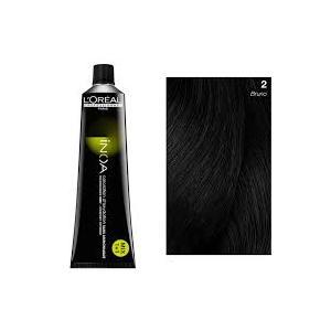 L'Oreal Professionnel Inoa 60 ml nuances   N°2 BRUNO  colorazione per capelli senza ammoniaca