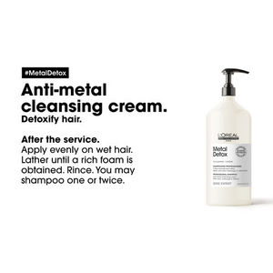 Shampoo crema anti-mettalli metal detox  1500 ml