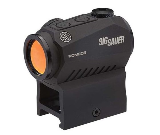 Opplanet demo sig sauer romeo5 compact red dot sight 1x20mm 0 5 moa 2 moa red dot 1 x cr2032 battery picatinny co witness mounts black sor52001 main