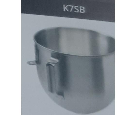 K7sb  vasca optional per k7p kitckenaid