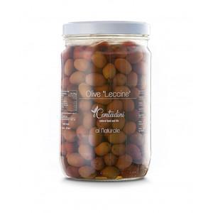 Olive Leccine Denocciolate, 1600 G - i Contadini
