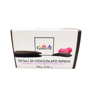 Petali di cioccolato ripieni
