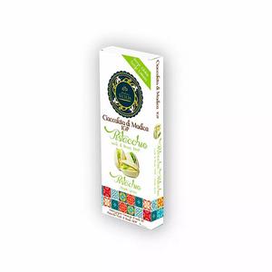 Cioccolata di Modica IGP con pistacchio verde di Bronte DOP - Antica Sicilia