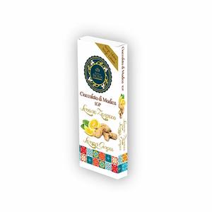 Cioccolata di Modica IGP con limone e zenzero - Antica Sicilia