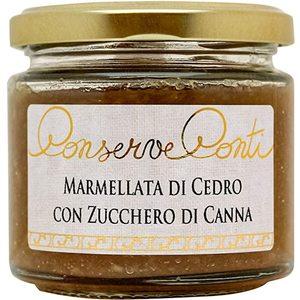 Marmellata di cedro con zucchero di canna - Conserva Conti