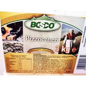 Pizzoccheri, 3 KG - Bosco
