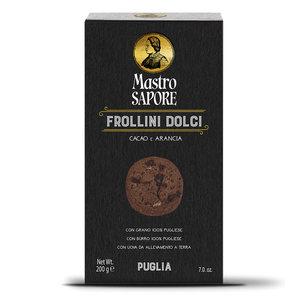 Frollini dolci al Cacao e arancia - Mastro Sapore