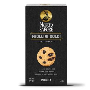 Frollini dolci Cocco e Mirtillo - Mastro Sapore