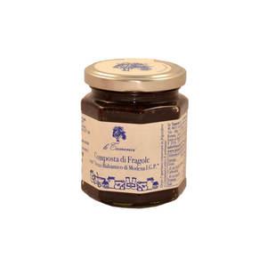 Composta di Fragole con aceto Balsamico di Modena IGP - le Tamerici