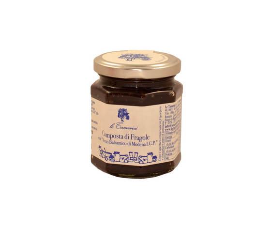 Composta fragole aceto balsamico modena