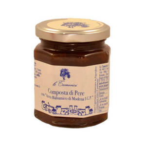 Composta di Pere con aceto Balsamico di Modena IGP - le Tamerici